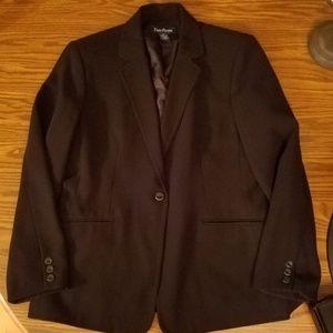 Ladies Evan-Picone Black Blazer